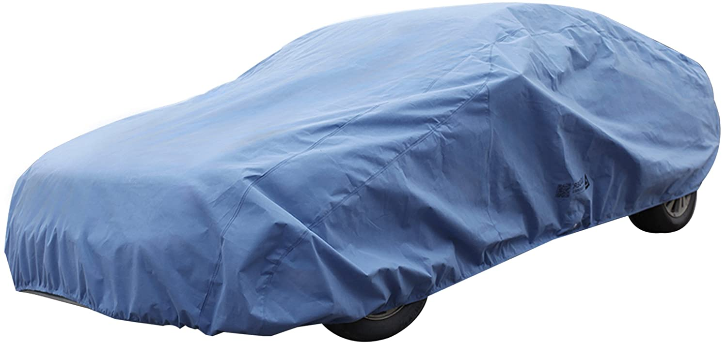 Leader Accessories Superior Guard 3 Layer Blue Car Cover Cars up to 154