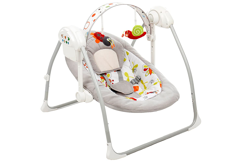 Babyschaukel Wippe Flippi // elektronische Babywippe // Schaukelwippe Fillikid