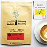 250 Grams Ground Coffee for Cafetiere French Press| 250g Peru Coffee Beans | Filter Coffee Moka Pot Cafetiere Coffee | Organic Fairtrade - Strong Coffee Medium Roast Luxury Coffee Beans - 100% Arabica Speciality Coffee