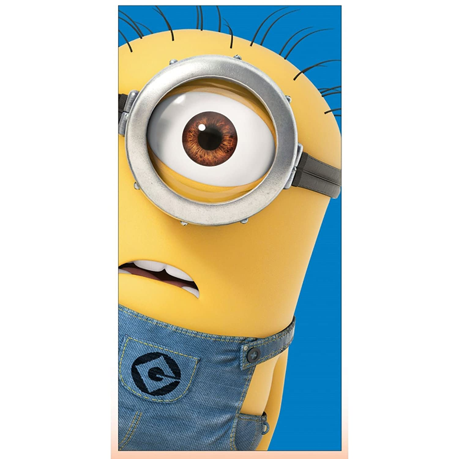 Despicable Me Single Minion Beach Towel TDI Roman