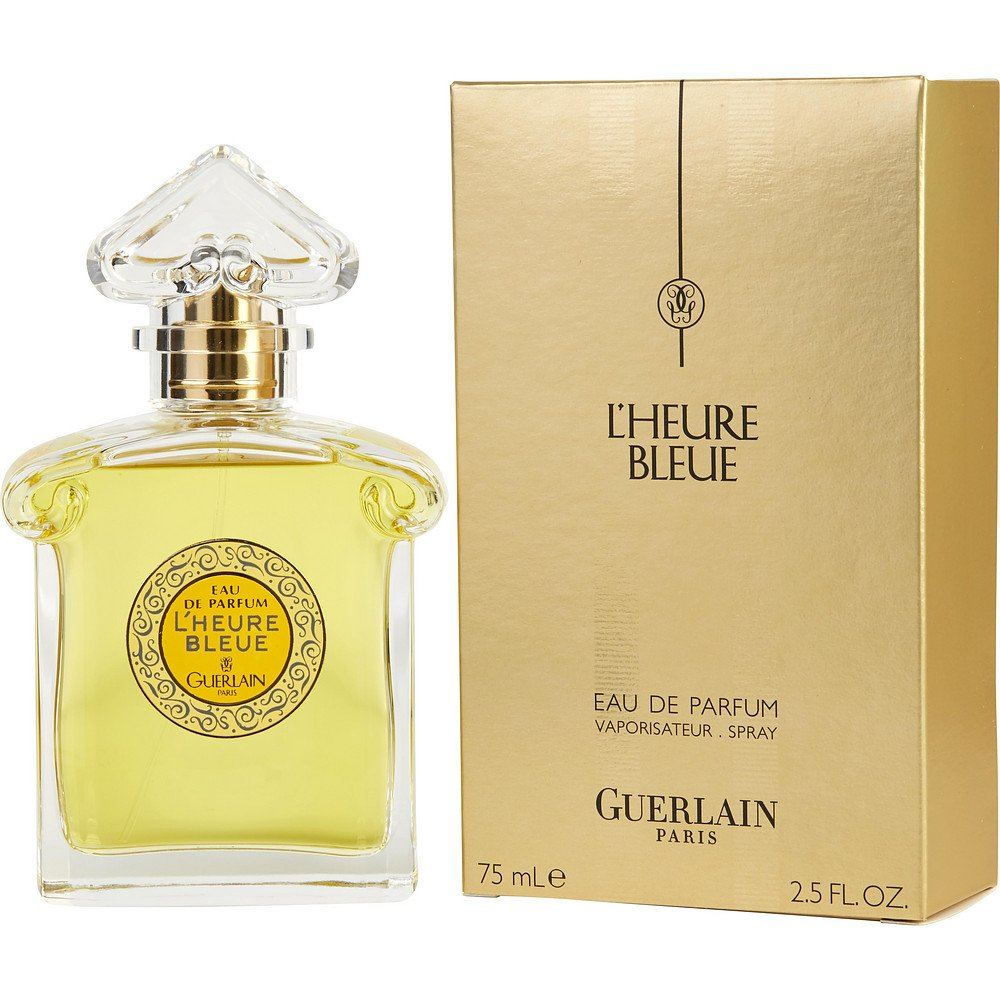 L'HEURE BLEUE by Guerlain EAU DE PARFUM SPRAY 2.5 OZ for WOMEN ---(Package Of 2)