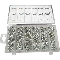 AERZETIX: Caja surtido tuercas con orejas 150 piezas