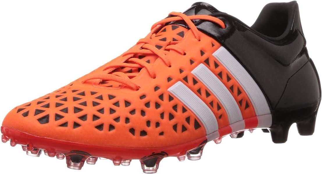 the latest 216c9 8abd2 adidas Ace 15.1 FG AG Mens Soccer Boots Cleats -Orange-7