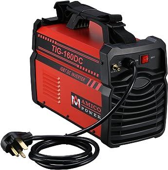 Amico TIG-Torch ARC Stick DC Welder Dual Voltage Welding Machine