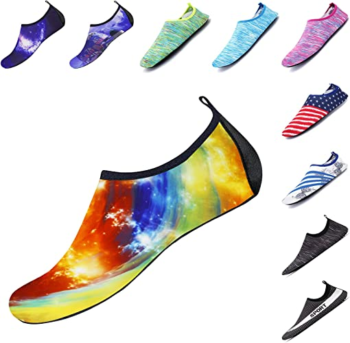 Lightweight Quick Dry Aqua Socks for Child Women and Men Water Shoes Suitable for Swimming