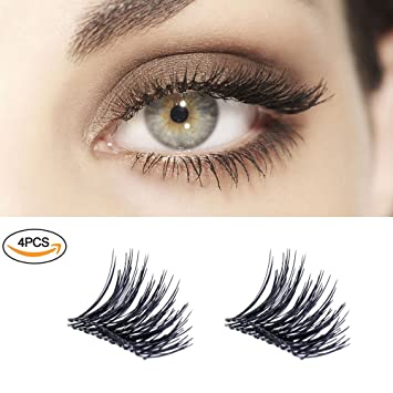 caab1077833 New Magnetic False Eyelashes , Ultra Thin 3D Fiber Reusable Best Fake Lashes  Extension for Natural