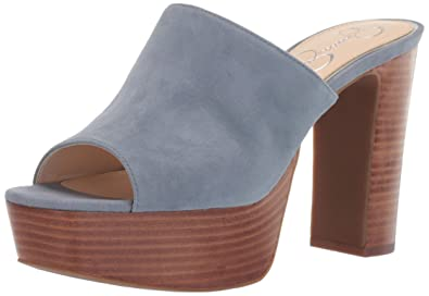 9ee05a017a1 Amazon.com  Jessica Simpson Women s Camree Heeled Sandal  Shoes