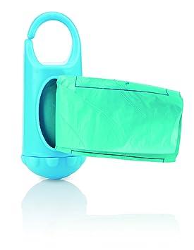 Nuby ID7044 - Dispensador de bolsas para desechar pañales (24 bolsitas perfumadas): Amazon.es: Bebé