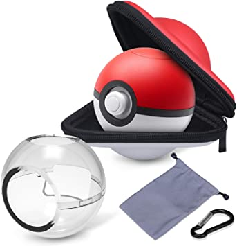 HEYSTOP Estuche de Transporte para Pokemon Poke Ball Plus, Funda ...