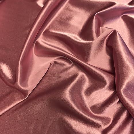 """25 Yards Shiny Bridal Satin Fabric 60/"""" Pink"""