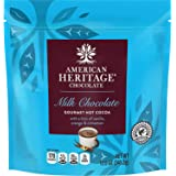 American Heritage 12-ounce Grated Chocolate Pouch - Hot Cocoa with Vanilla, Orange & Cinnamon Flavor - Great Addition To Dail