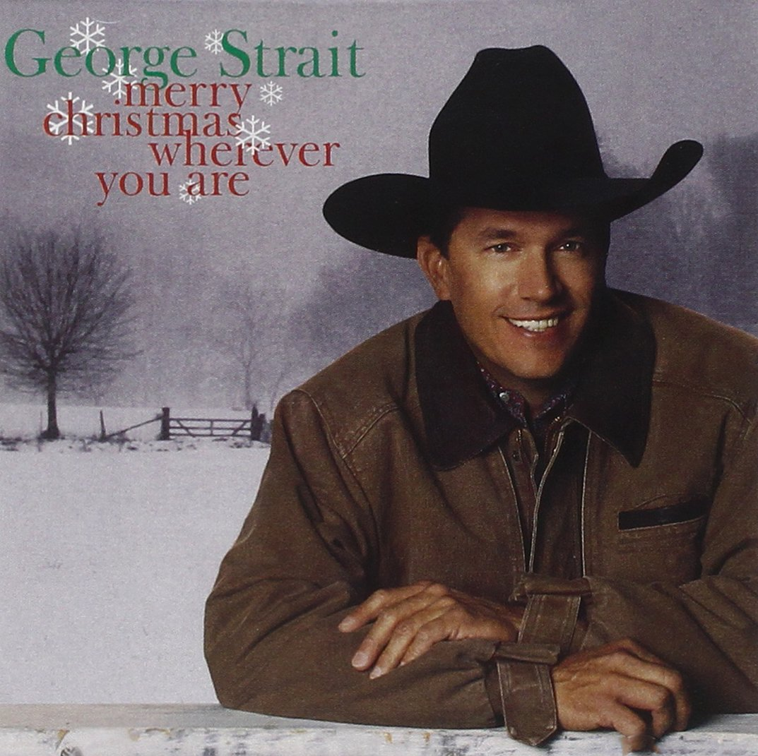 CD : George Strait - Merry Christmas Wherever You Are (CD)