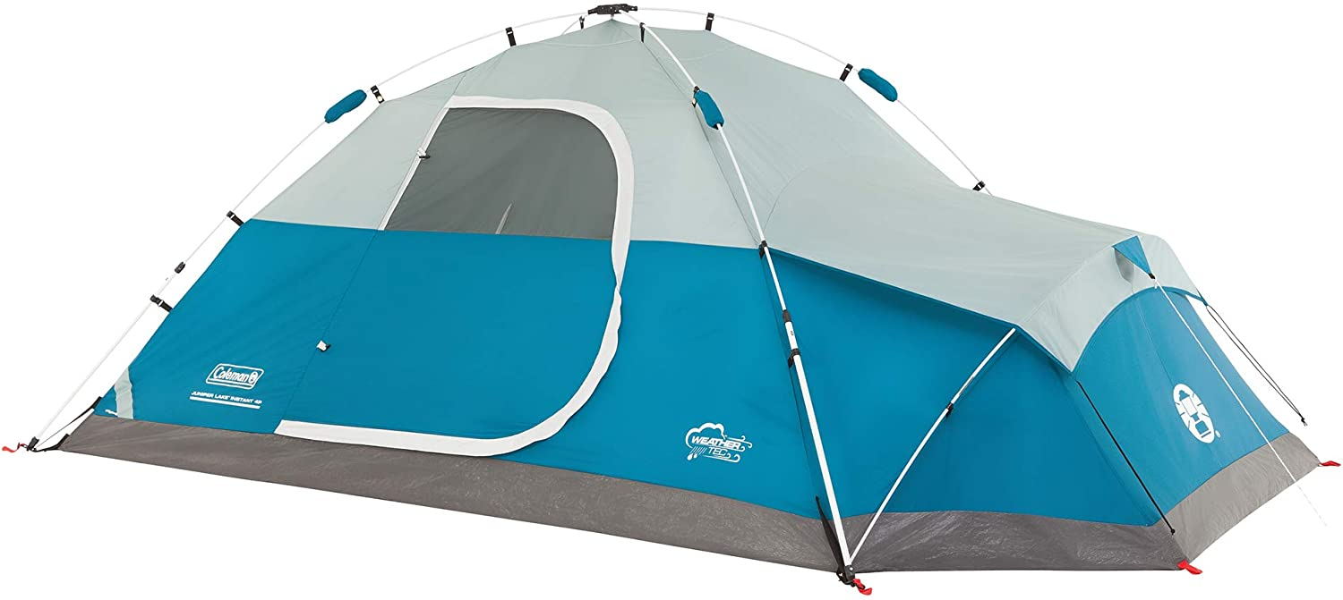 Juniper Lake Instant Dome 4 Person Tent With Annex Amazon Ca Sports Outdoors