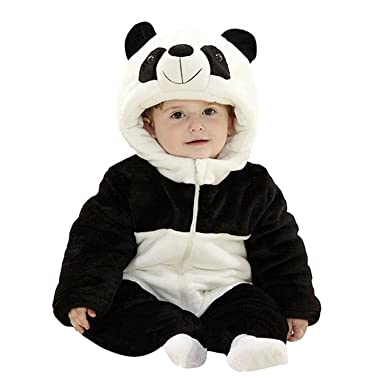 2732a1a66 Amazon.com  MerryJuly Unisex-Baby Jumpsuit Romper Winter Animal ...