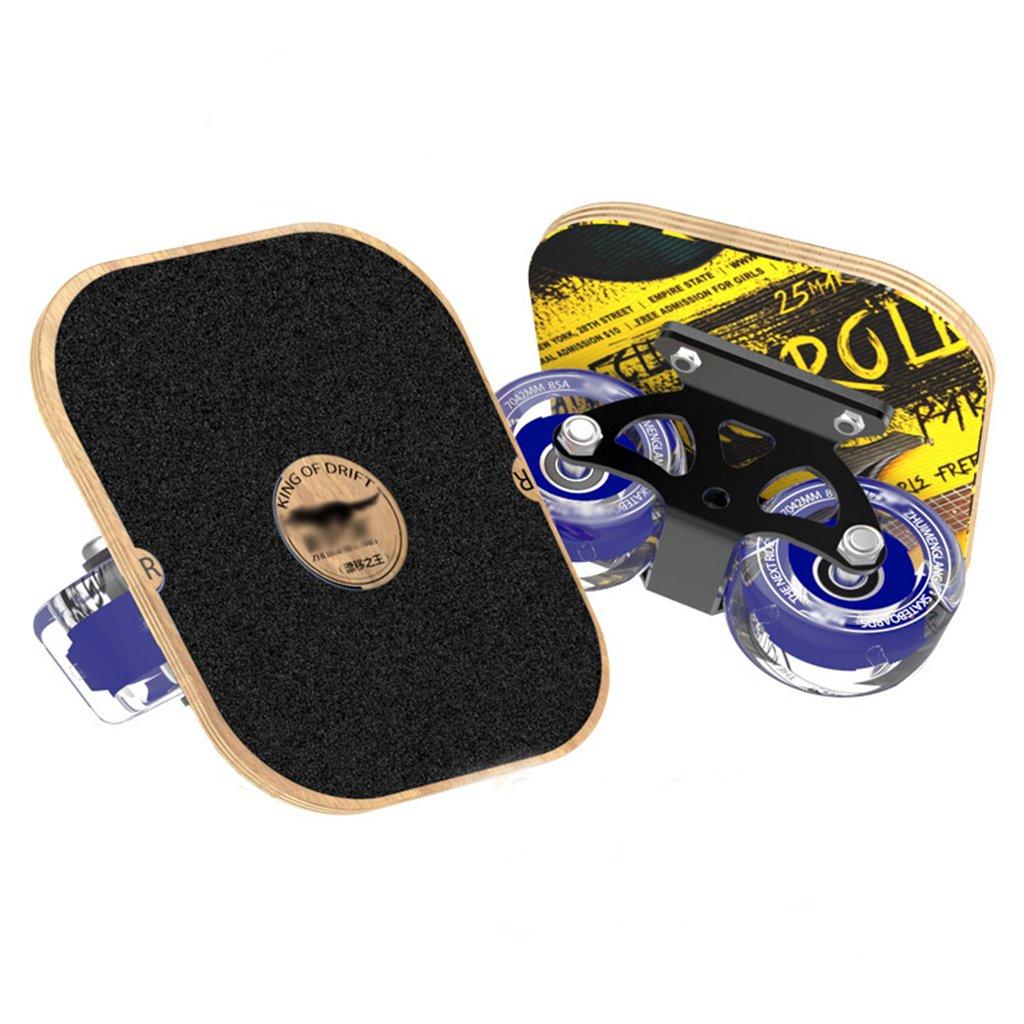 大人気新作 ドリフトボードフリーラインスケート大人の子供4輪スプリットプロスケートボード旅行フラッシュホイールバイタリティボード B07FLX4HRB B07FLX4HRB Black Black Black Black, アルミーファイブ:04dfb0b5 --- a0267596.xsph.ru
