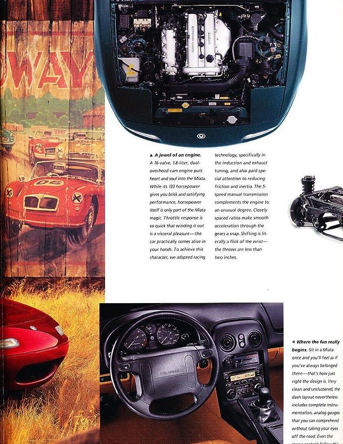 Manuals & Literature Automotive 1997 Mazda Mx-5 Miata Original Car ...