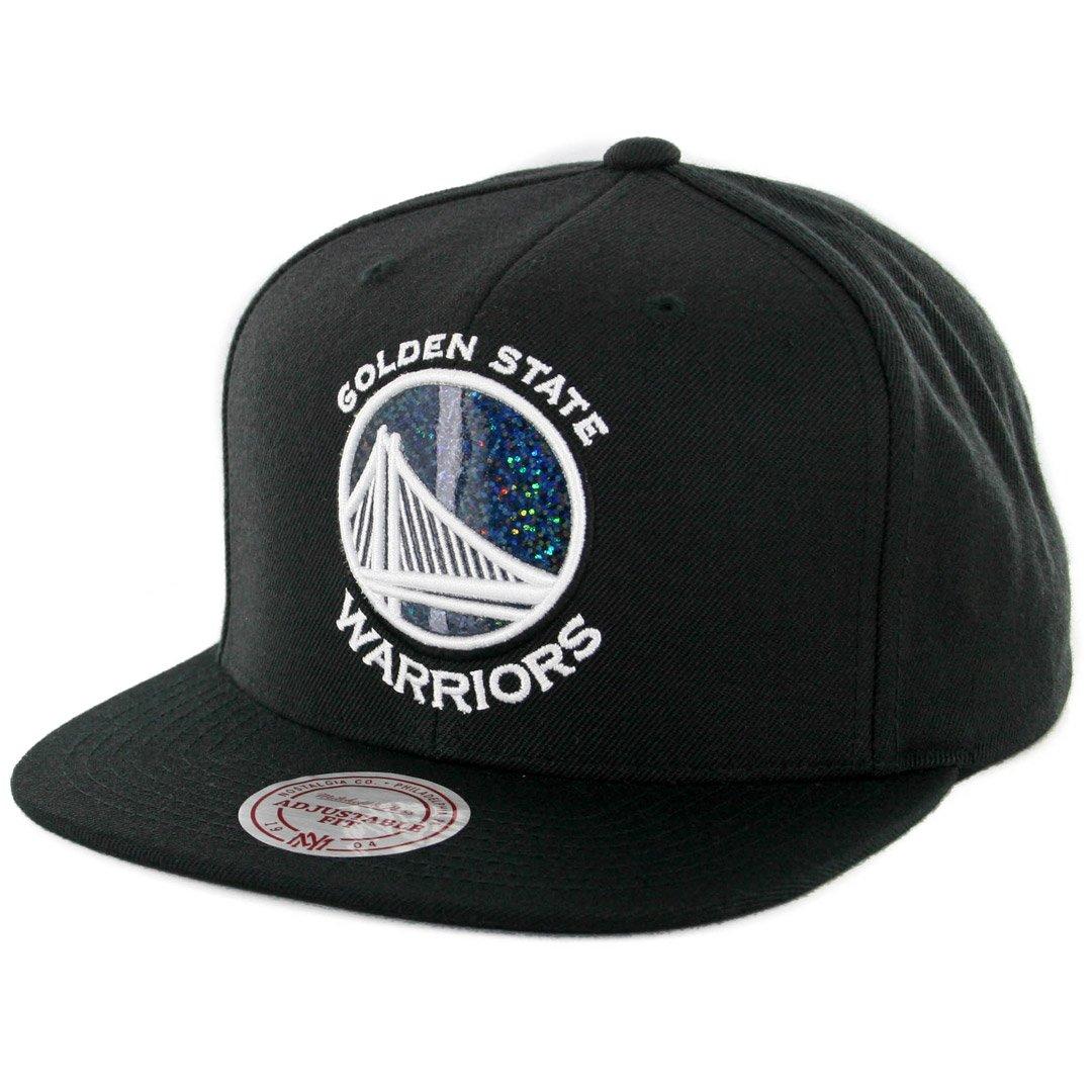 6b7c0b27897 Amazon.com   Mitchell   Ness NBA Dark Hologram Snapback Hat - Black  (Adjustable