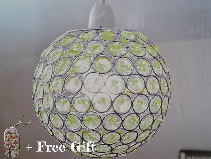 Modern Plum Acrylic Crystal Silver Chrome Frame Ball Ceiling Light ...