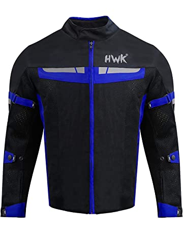 49645776 HWK Mesh Motorcycle Jacket Riding Air Motorbike Jacket Biker CE Armored  Breathable (XXXX-Large