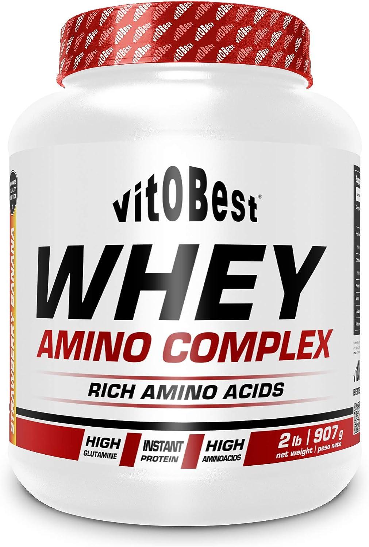 WHEY AMINO COMPLEX 2 lb MELOCOTON - Suplementos Alimentación ...