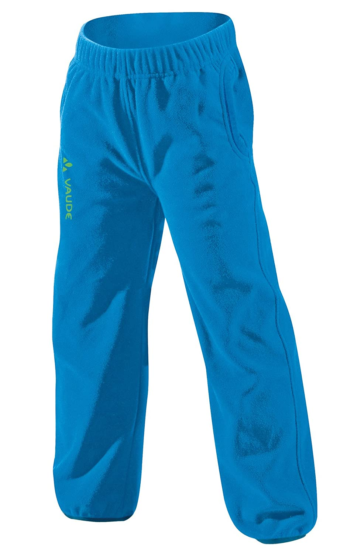VAUDE Pantaloni di Randone Bambino Blu 12-13 anni (146/152 cm), bambini, Hose Kids Karibu Pants, azzurro, XL 06909