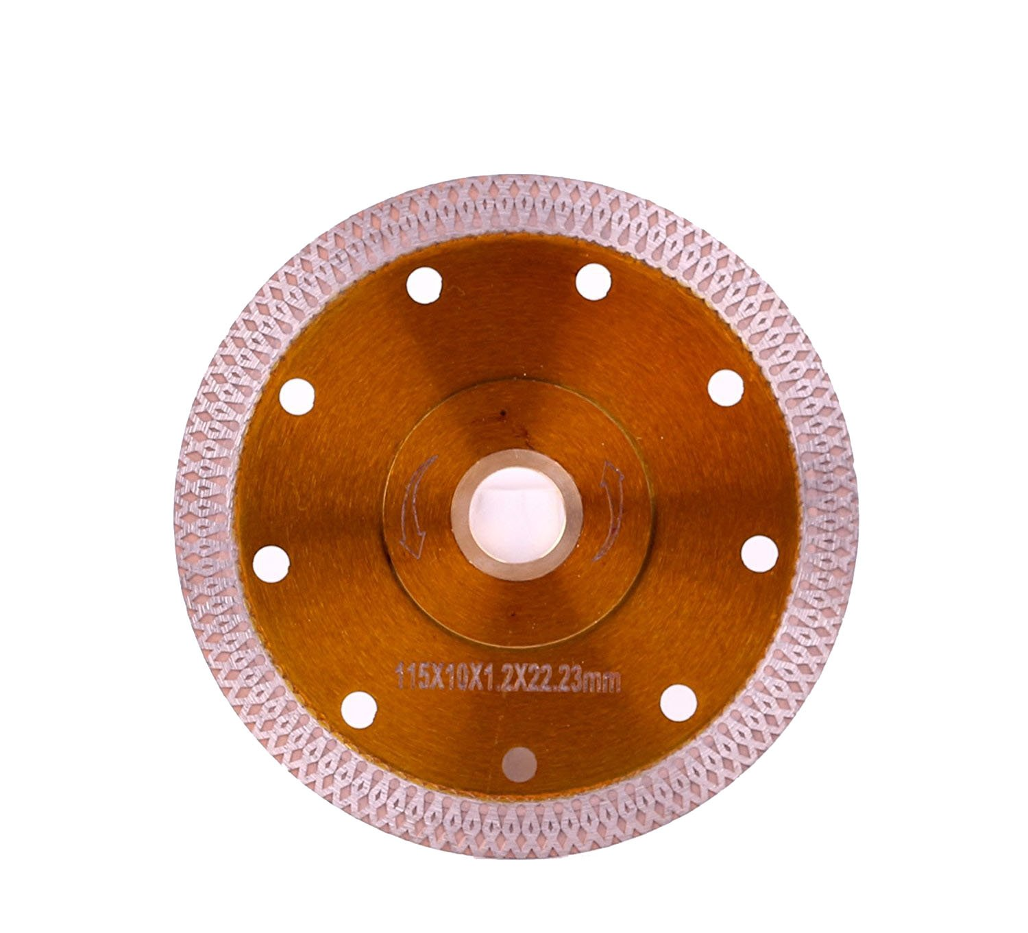 "4.5""D115mm Super Thin Diamond Ceramic Saw Blade Porcelain Cutting Blade for Cutting Ceramic Or Porcelain Tile"