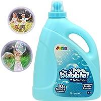 JOYIN Toy Bubble Solution Refill (up to 2.5 Gallon) Big Bubble Solution 32 Ounce Concentrated Solution for Bubble…