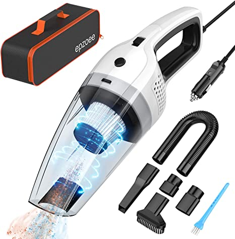 Amazon.com: epzoee - Aspirador de coche con cable de alta ...