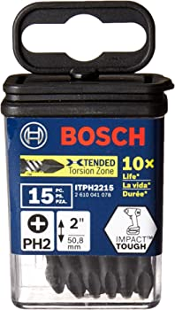 15-Piece Bosch Impact Tough 2