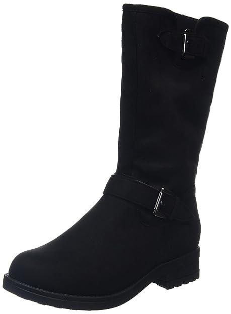 New LookWide Foot Boss Buckle - Stivali donna , Nero (Black (black/01