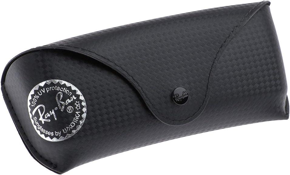 Ray-Ban - Caso de gafas - Negro Carbonoptic - Tamaño L: Amazon.es: Ropa y accesorios