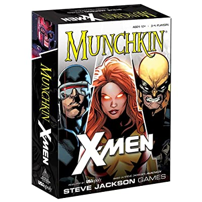 USAOPOLY X-Men Munchkin Card Game: Cards: Toys & Games
