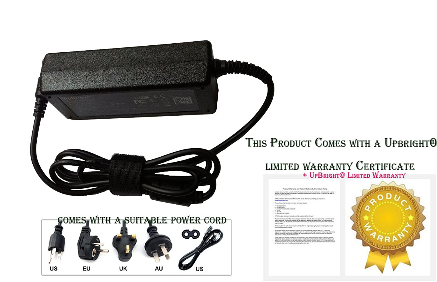 Amazon.com: UpBright New Global 12V AC / DC Adapter For Sirius Radio ...