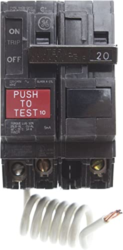 General Electric THQB2130GF 2 Pole, 30 Amp Bolt-On GFCI gfi Circuit Breaker, 240V