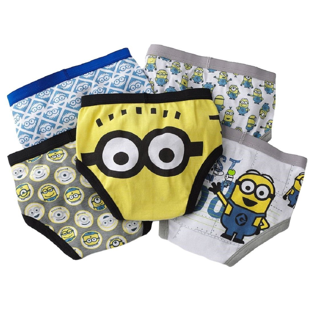 Despicable Me 2 Minion Boys Briefs, Underwear [Apparel], Assorted, Size 8