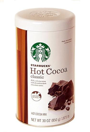 Amazon.com : Starbucks Classic Hot Cocoa, 30 Ounce : Starbucks Hot ...