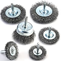 8 Inch Mixiflor Knotted Twist Wire Wheel Brush for Grinders