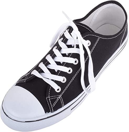 Mens Canvas Lace Up Sporty Outdoor