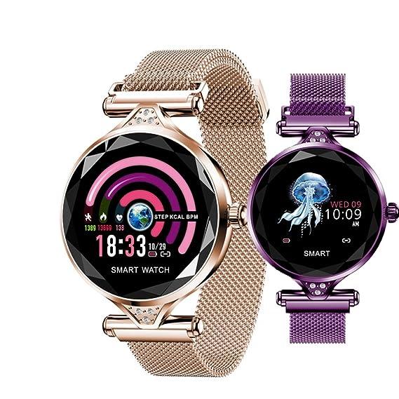 VIWIV H1 Lady Smart Watch Moda para Mujer Monitor De Ritmo ...