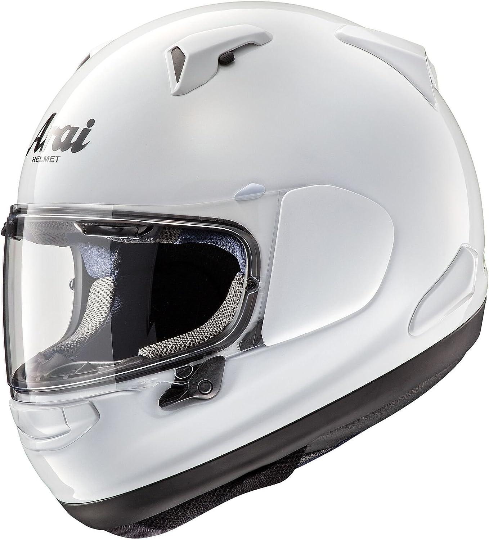 Amazon.com: Arai quantum-x Blanco Casco de Moto, LG, Blanco ...