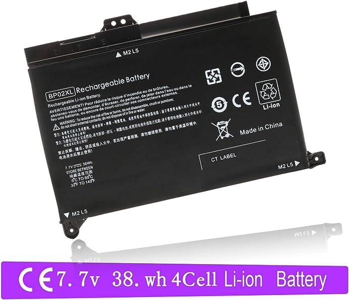 BP02XL 849909-850 Laptop Battery for HP Pavilion PC 15 15-AU000 15-AU010WM 15-AU018WM 15-AW000 15-AW053NR Series HSTNN-LB7H HSTNN-UB7B BP02041XL 849569-421 849569-542
