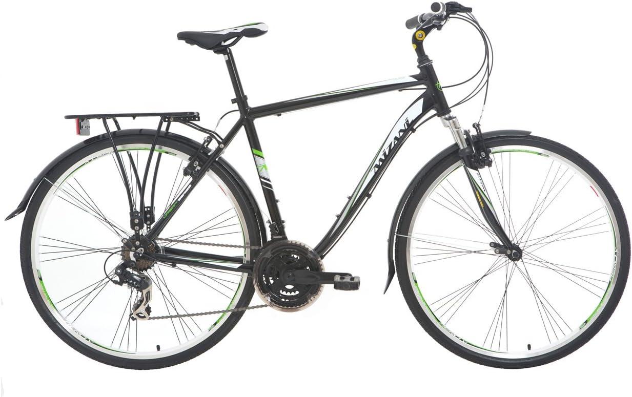 Mizani Vivo - Bicicleta híbrida para Hombre, 18 in, Color Azul ...