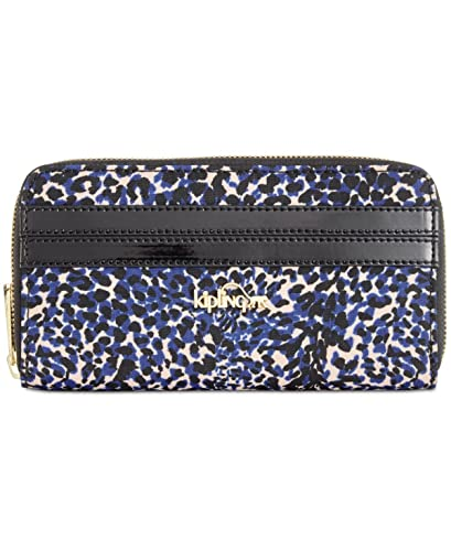 Kipling Cartera para mujer mujer multicolor Blue/Black/Bran Animal Print: Amazon.es: Zapatos y complementos