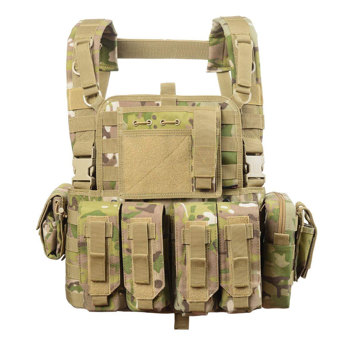 vAv YAKEDA Tactical CS Game Chest Vest - KF-099