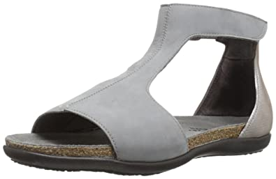 b85d293e7734 NAOT Women s Nala Flat Sandal Gray 36 EU 5 ...