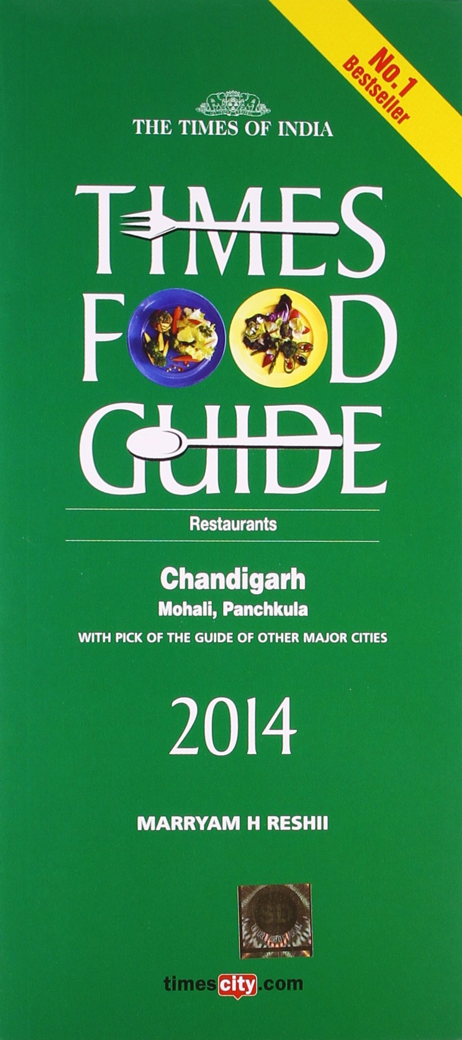 Times Food Guide CHANDIGARH - 2014 PDF