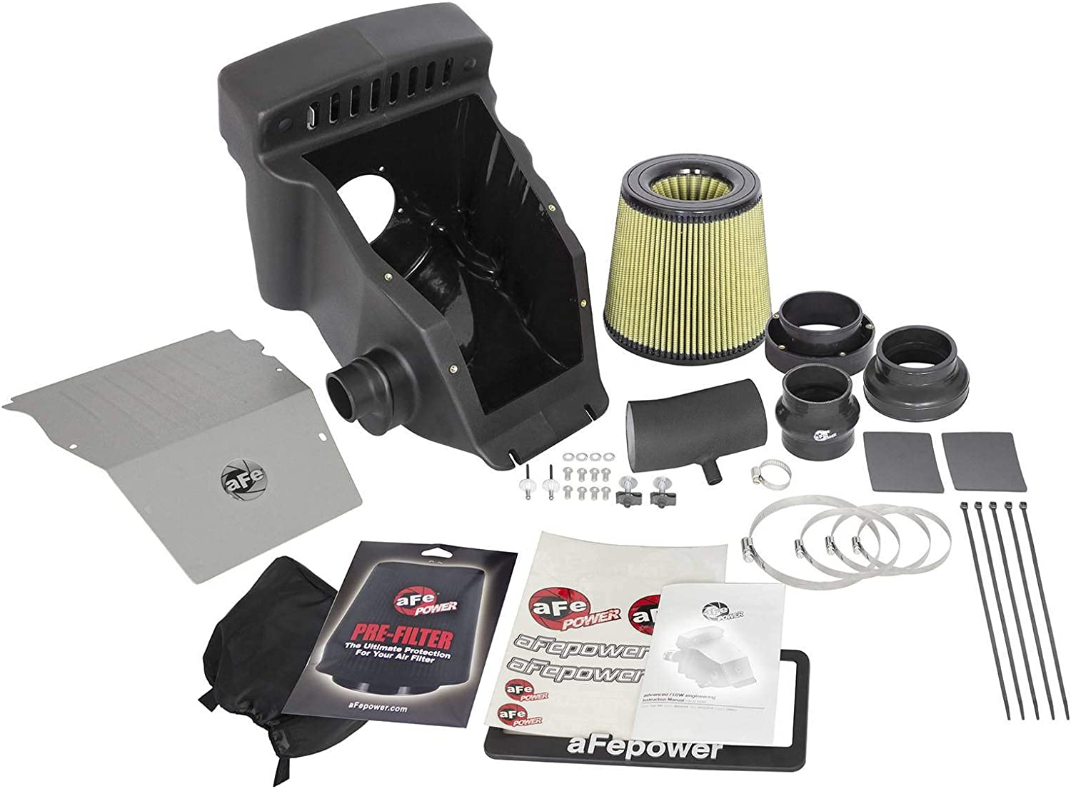Oiled, 7-Layer Filter aFe Power 85-80066 Aries Powersports Intake System