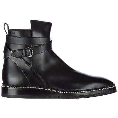 2750afeee04ceb BALLY Herren Lejor Biker-Stiefel Nero  Amazon.de  Schuhe   Handtaschen