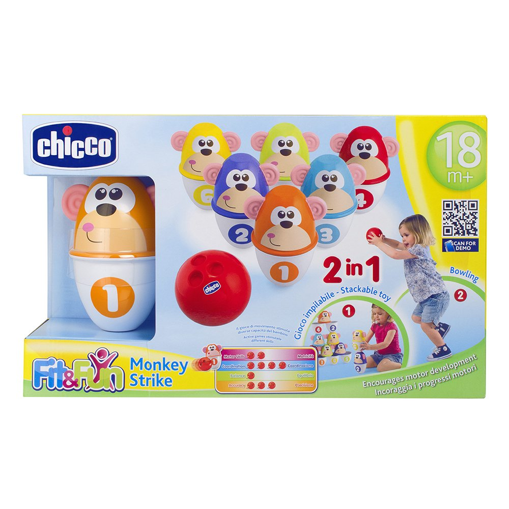Chicco Monkey Strike, Multi Color