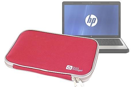 Neopreno rojo DURAGADGET Funda para HP Pavilion 15-e052sg y Pavilion 15 Steelbook ordenador portátil